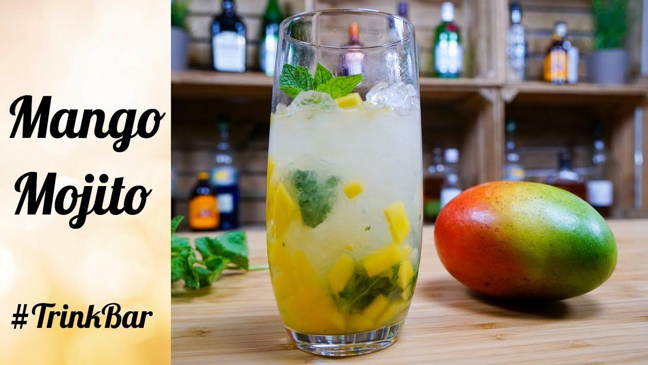 Verführerisch Rezept Mojito Cocktail Dekoration Von Mango - - - Trinkbar