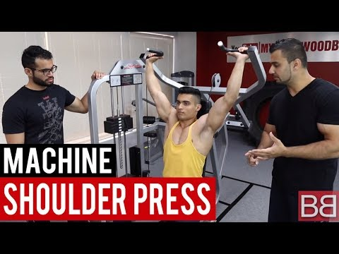 SHOULDER PRESS Machine (Hindi / Punjabi)