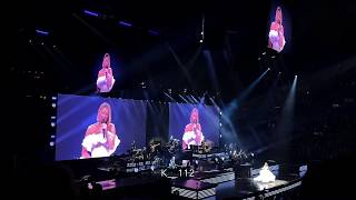 Celine Dion - Happy Xmas War Is Over  - live in Boston - 13 Dec 2019 - Christmas