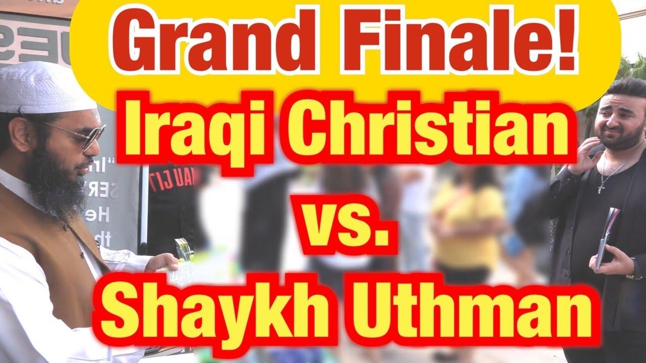 Grand Finale: Iraqi Christian vs. Shaykh Uthman (Part 2)