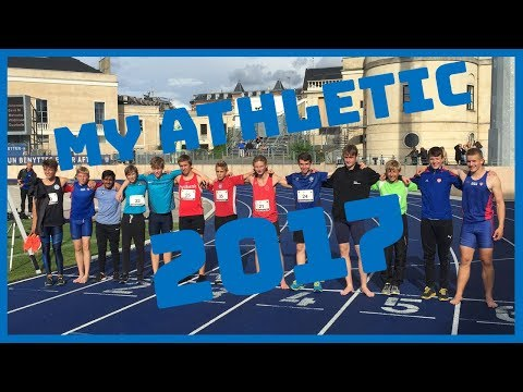 My athletic life in 2017!