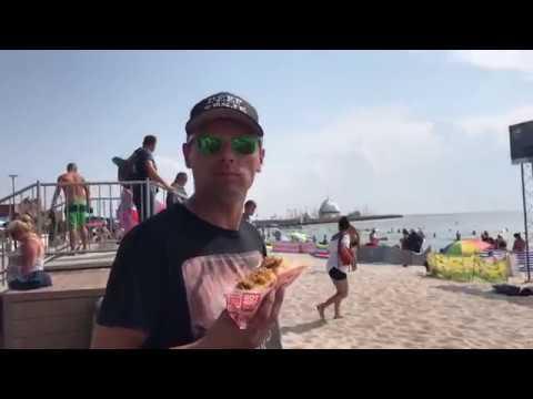 Hel Peninsula Poland Baltic Sea Beach resort town  Jastarnia Where do  Polish families vacation
