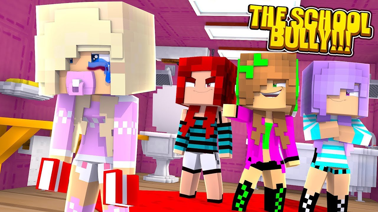 Minecraft Princess Baby Kayla Is Bullied On Her First Day At School