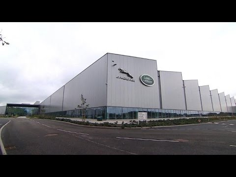 Jaguar Land Rover opens $800 million factory in Britain