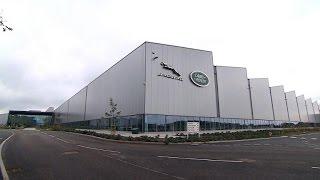 Jaguar Land Rover opens $800 million factory in Britain