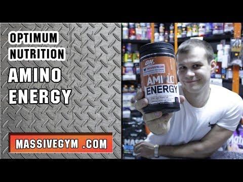 MG Обзор - Аминокислоты + Предреник AmiNO Energy (Optimum Nutrition) - MassiveGym.com
