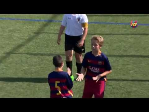 VIDEO – Piccoli Messi crescono a Barcellona: golazo del baby fenomeno blaugrana