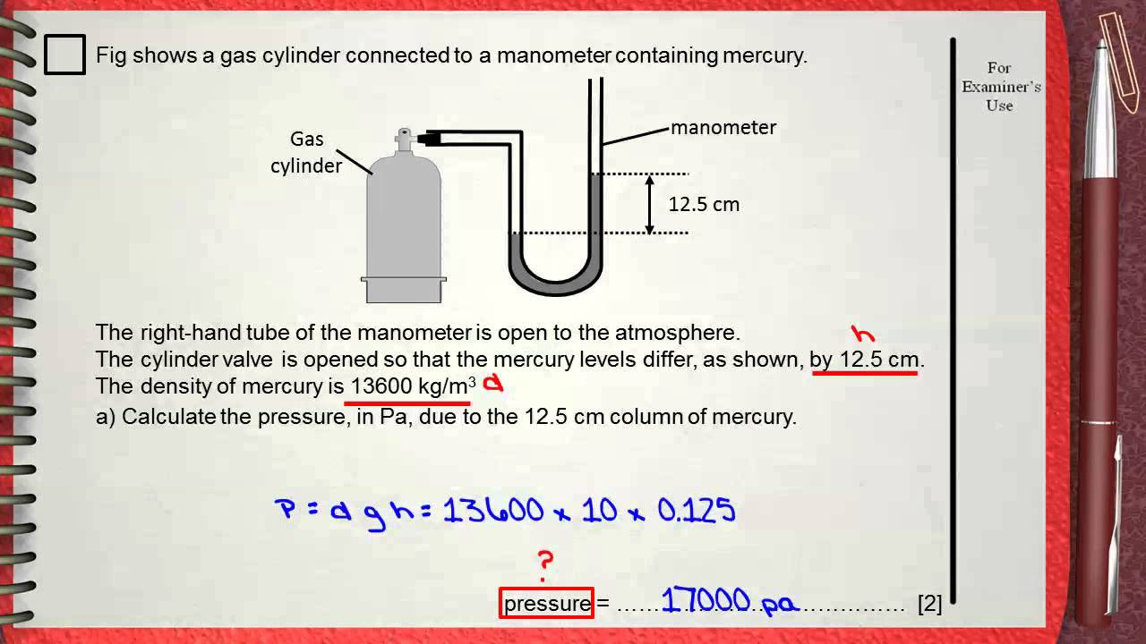 igcse physics questions and answers