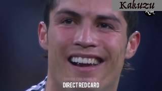 Top những thẻ đỏ của Ronaldo - Nước mắt Ronaldo