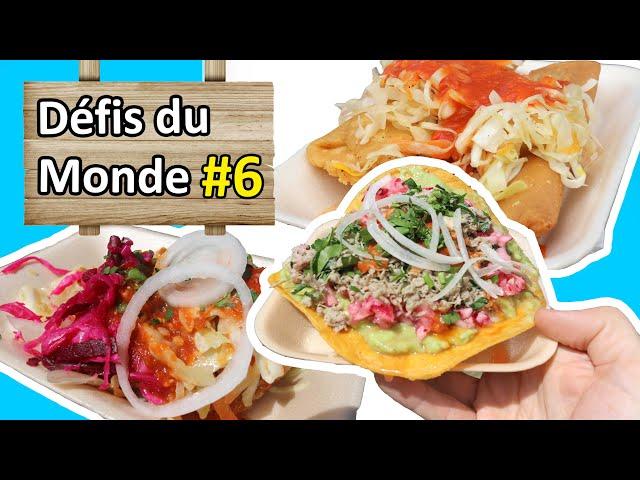 Manger la nourriture locale - Défi #6 - Nomades 2.0