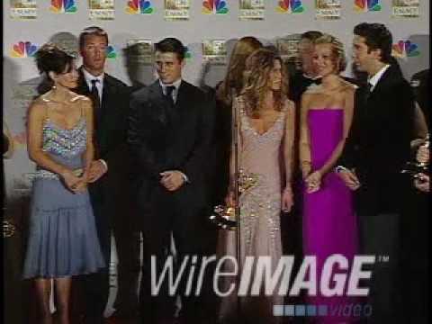 Cast Of Friends 2002 Emmy Awards Press Room