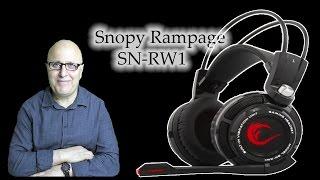 Snopy Rampage SN-RW1 7.1 Oyuncu Kulaklık Kutu Açılımı