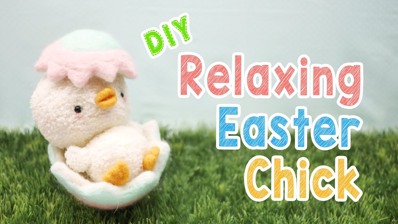 Diy relaxing easter chick plush kawaii easter decoration animal diy relaxing easter chick plush kawaii easter decoration animal plush tutorial youtube negle Images
