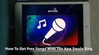 Video HOW TO GET FREE SONGS! (Smule Sing Karaoke App) download MP3, 3GP, MP4, WEBM, AVI, FLV Juli 2018
