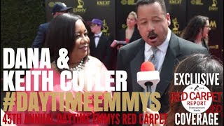 Dana & Keith Cutler #CouplesCourt interviewed at 45th Daytime Emmy Awards #NATAS #DaytimeEmmys