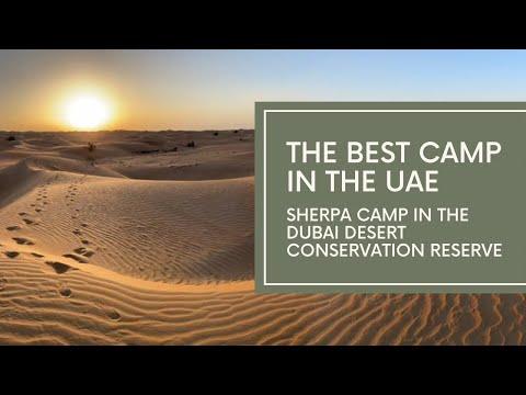 Tour Sand Sherpa's desert camp in the Dubai Desert Conservation Reserve