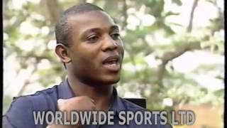 STEPHEN KESHI - Nigeria's Coach speaking as a player in 1994
