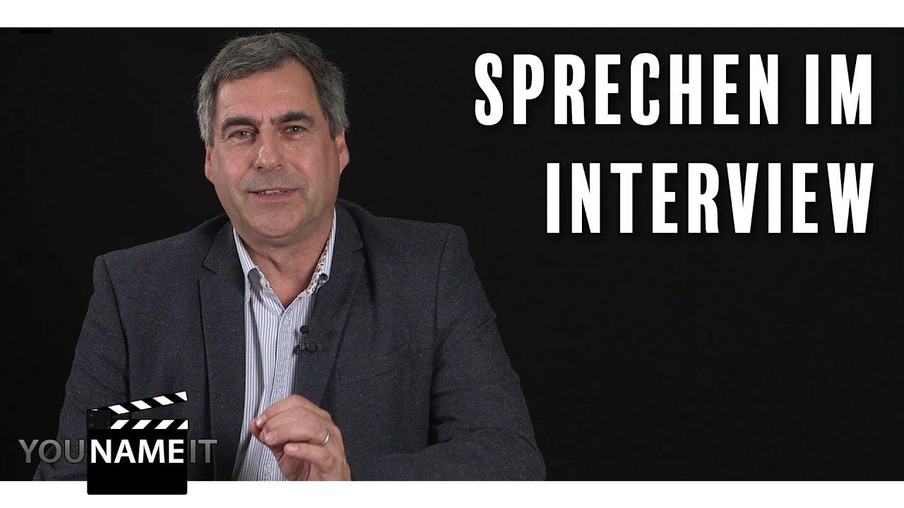 Sprechen im Interview // Tipps