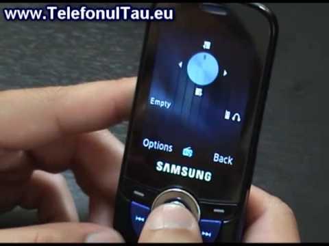 Samsung M2510 Hands on - www.TelefonulTau.eu -