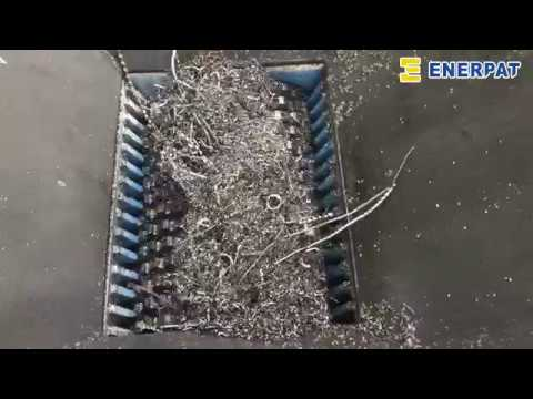 Automatic Scrap Metal Chip Briquetting Press Machine & Recyc