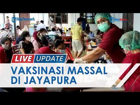 Vaksinasi Massal di Kelurahan Vim Kota Raja Distrik Abepura Jayapura
