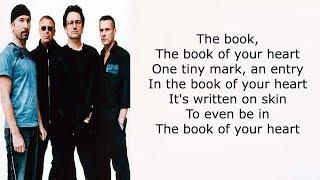 U2 – Book of Your Heart Lyrics
