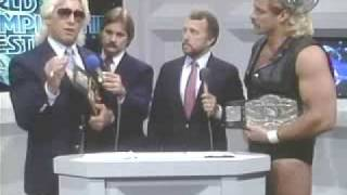 Flair and Magnum TA Face Off