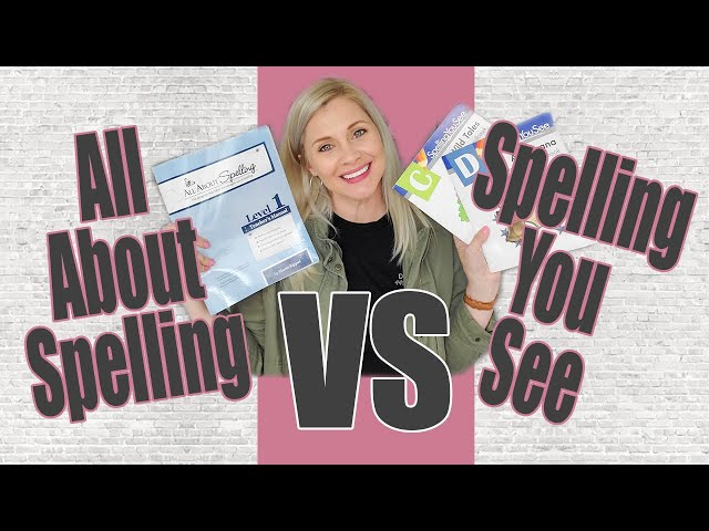ALL ABOUT SPELLING VS SPELLING YOU SEE | Spelling Curriculum Comparison | Homeschool Curriculum