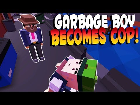 GARBAGE BOY BECOMES PRO COP! | Broke Protocol Game | Let's Play Broke Protocol Multiplayer Gameplay
