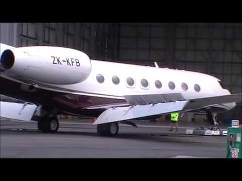 Gulfstream GVI ZK-KFB