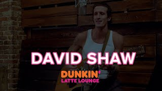 David Shaw Performs At The Dunkin Latte Lounge
