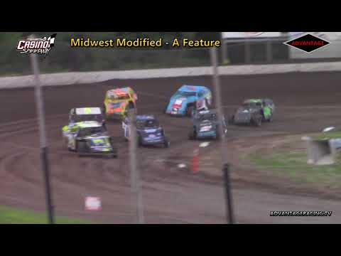 Midwest Modified Feature - Casino Speedway - 6/24/18