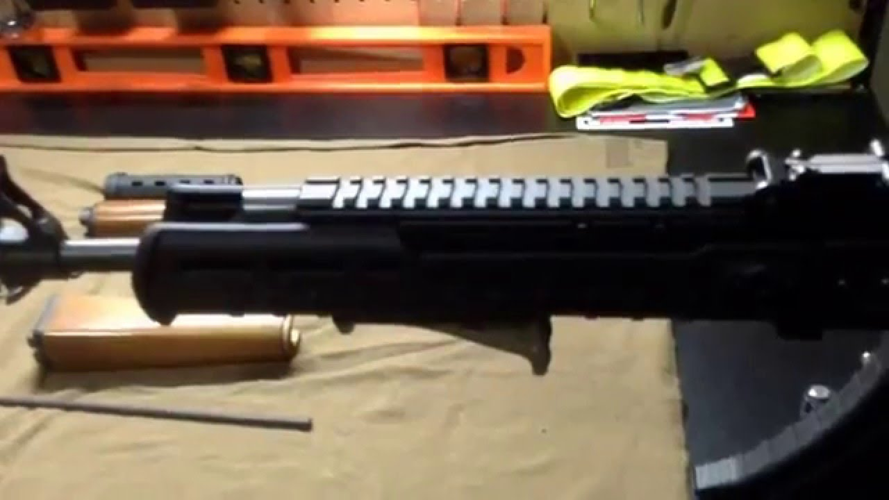 Ultimak and Magpul Zhukov handguard on a NPAP! It can be done