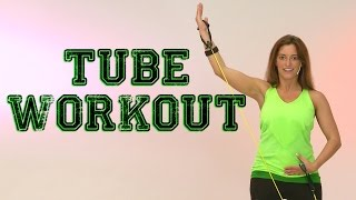 Tube Workout - Das komplette Training mit Andrea