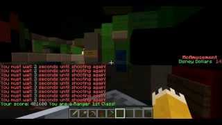 Buzz Lightyear Astro Blasters In Minecraft! 1:1 Scale recreation