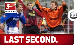 Top 10 - Last-Second Goals - Advent Calendar Number 22