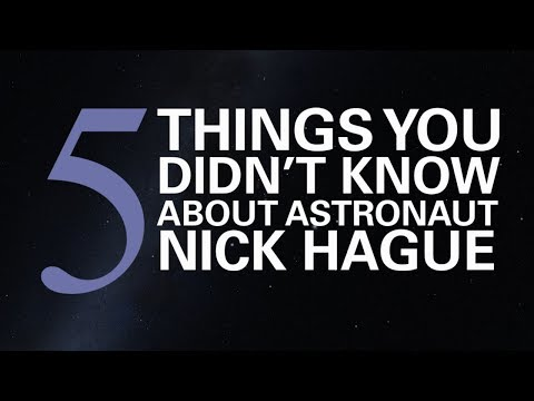 5 Things You Didn't Know About Astronaut Nick Hague