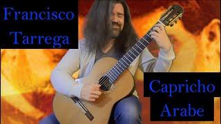 Capricho Arabe/Francisco Tarrega Classical Guitar