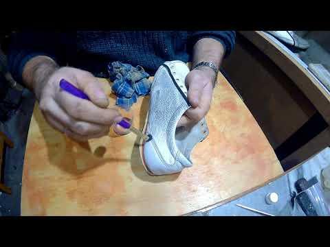 Как перекрасить туфли в домашних условиях