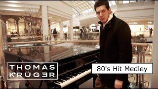 THOMAS KRÜGER – 80's HIT MEDLEY ON PIANO AT SHOPPING MALL