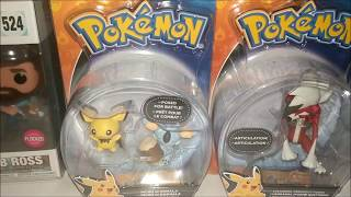 Toy Hunting Walmart/target - Bob Ross Pops And Too Many Pokemon Figures