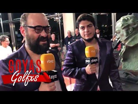 Ignatius y David Sainz en los #Goya2019 | #IgnatiusySainzGolfxs COMPLETO
