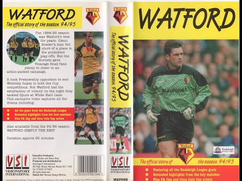 Watford Football Club Season Review 1994-95