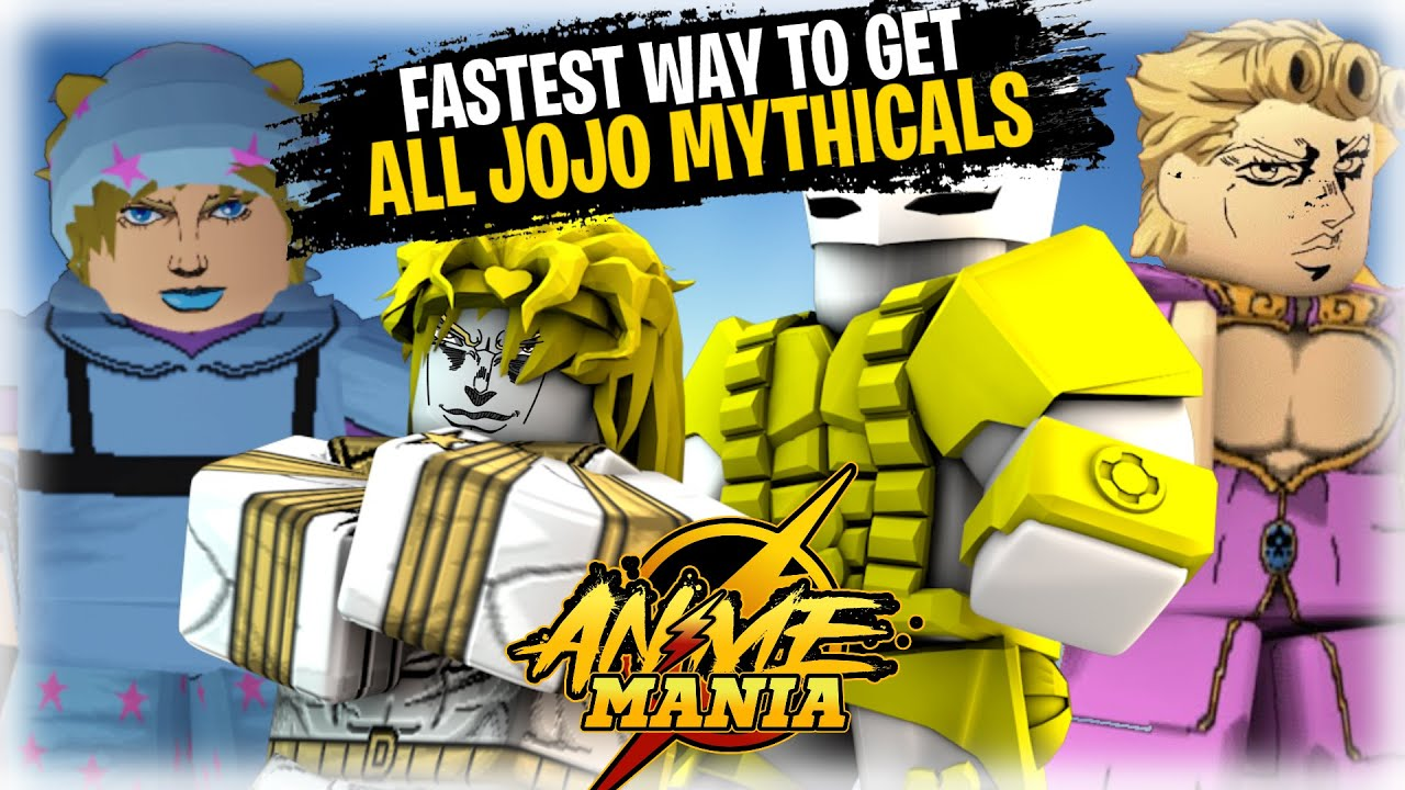 Download The FASTEST Method Of Getting ALL JOJO MYTHICALS |DIO OVER HEAVEN, TA4, GER, SHOWCASE! | Anime Mania