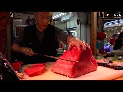Sashimi - Street Food in Japan