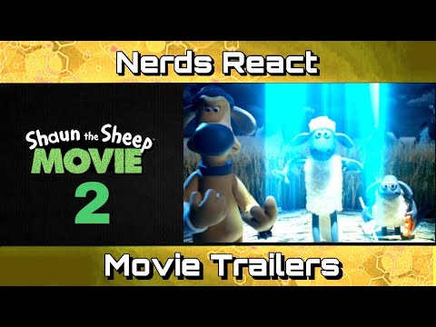 SHAUN THE SHEEP MOVIE 2: FARMAGEDDON Trailer | Nerds React | Movie Trailers