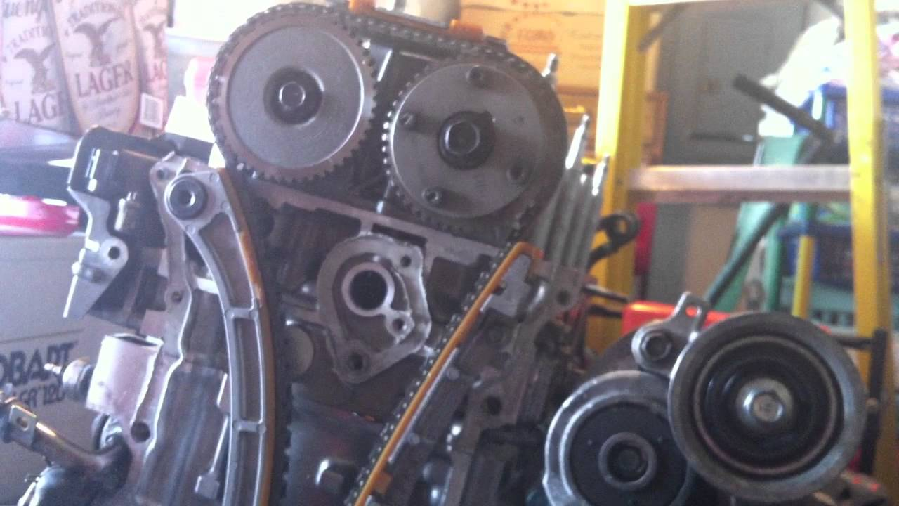 Honda K Series Engine Diagram Schematic Diagrams Kohler Wiring Skunk2 Stage3v3s In A With No Chain Slap Youtube J Turbo