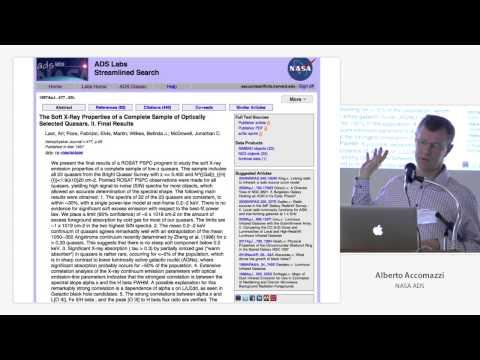 Alberto Accomazzi - NASA ADS @ I Annotate 2013