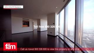 Luxurious 2 Bed apartment for Sale in Burj Khalifa, Downtown, Dubai.