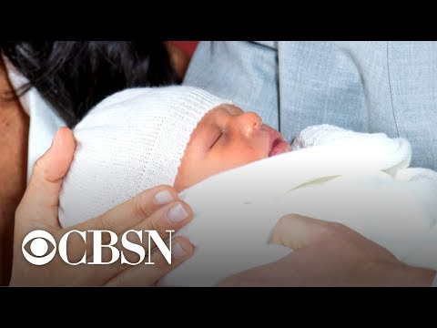 Royal baby Archie christened in private ceremony